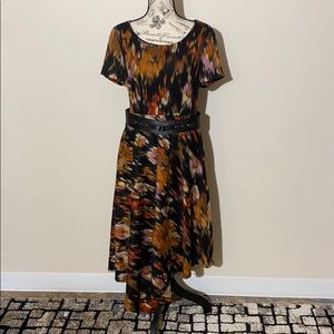 Luxe By Carmen Marc Valvo Dress Size 10